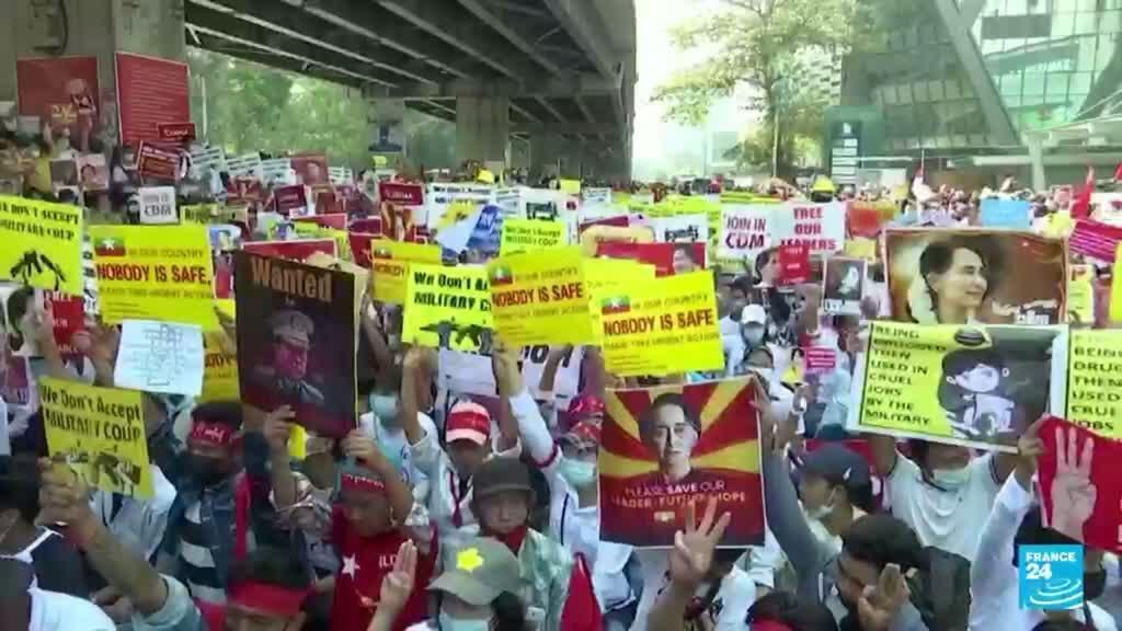 2021-08-01 14:31 Myanmar, a seis meses del golpe de Estado