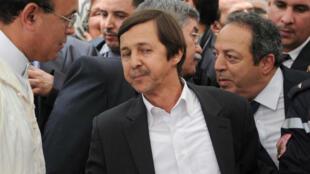Le frère de l'ex-président algérien, Saïd Bouteflika, photographié le 17 mai 2012, à Alger.