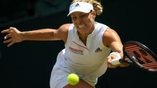 Back in the final: Angelique Kerber
