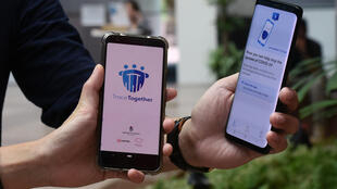 Singapore's government used a phone-tracking app in its fight to halt the coronavirus spread, a measure now being considered in France.