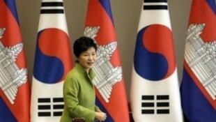 رئيسة كوريا الجنوبية بارك غيون هي