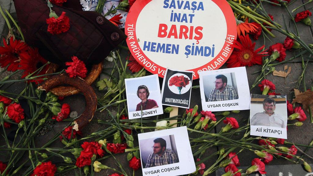 L'attentat de samedi 10 octobre à Ankara, qui a fait 97 morts, est le plus meurtrier de l'histoire de la Turquie.