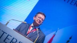 Alexander Prokopchuk, 56ans, pourrait devenir le nouveau président d'Interpol.