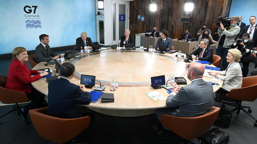Biden urges G7 leaders to create unified front to counter China