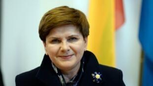 رئيسة الوزراء البولندية بياتا سيدلو