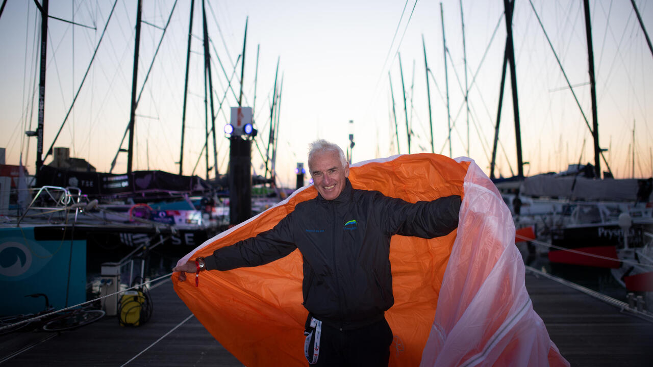 Vendee Globe A Kite To The Rescue Of The Skippers France 24 Teller Report