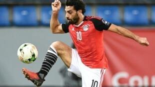 اللاعب المصري محمد صلاح.