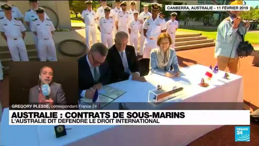 2021-09-17 13:32 Contrats de sous-marins australiens : un revirement à quel prix ?