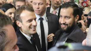 "Alexandre Benalla estime avoir ""la confiance "" d'Emmanuel Macron."