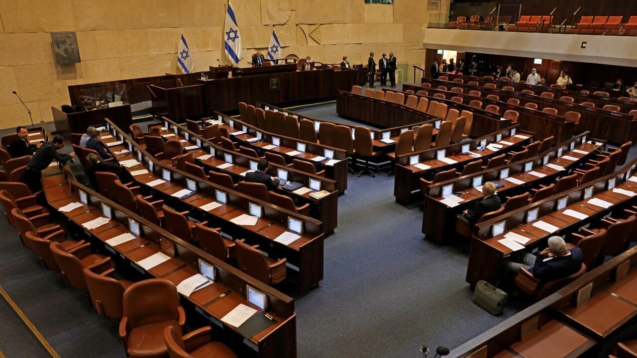 ISRAEL PARLAMENTO
