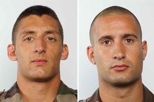 Les deux soldats français tués en Centrafrique