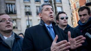 Henri Guaino à Paris, le 2 février 2014.