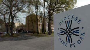 L'entrée du diocèse de Dax, le 6 avril 2016.