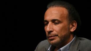 L'intellectuel Tariq Ramadan lors d'une conférence à Bordeaux, le 26 mars 2016.