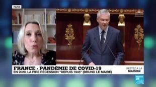 2020-04-06 18:01 Coronavirus en France : En 2020, probablement la pire récession depuis 1945, estime Bruno Le Maire