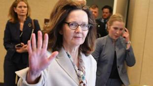 Gina Haspel à sa sortie du Sénat américain, le 9 mai 2018.
