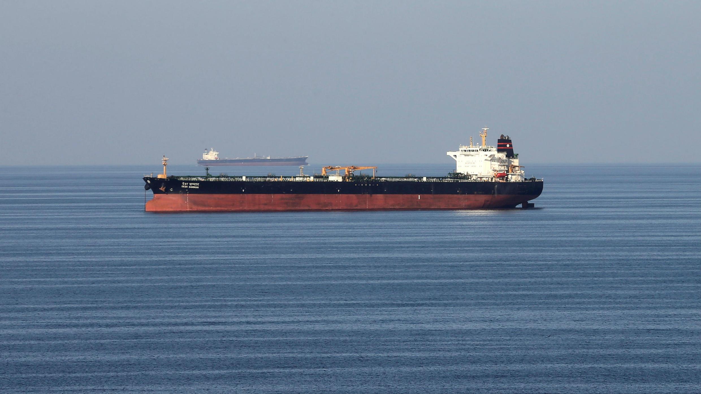 Archivo. Petrolero pasando por el estrecho de Ormuz. 21 de diciembre de 2018.