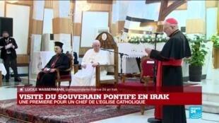 2021-03-05 15:10 Visite du souverain pontife en Irak : une première pour un chef de l'Église catholique