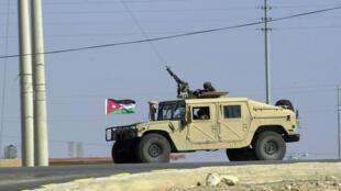 Un véhicule blindé de l'armée jordanienne (archives).