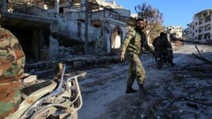Les soldats de Bachar al-Assad avait déjà repris le village de Salma dans le nord-ouest de la province de Lattaquié, le 15 janvier 2016.