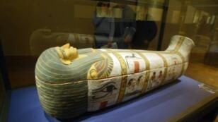 مومياء في متحف اللوفر