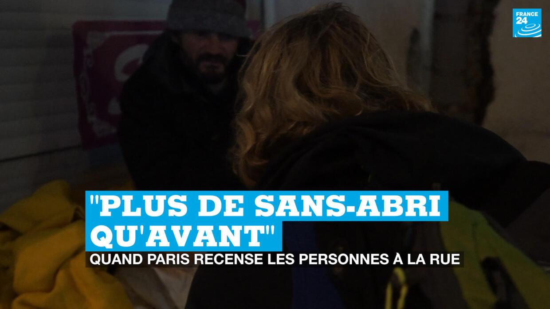 Plus De Sans Abri Qu Avant Quand Paris Recense Les Personnes A