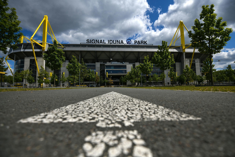Le SIgnal Iduna Park, à Dortmund, qui sonnera inhabituellement creux ces prochaines semaines.