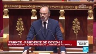 2020-04-28 15:05 REPLAY - Déconfinemen : Édouard Philippe devant l'Assemblée nationale