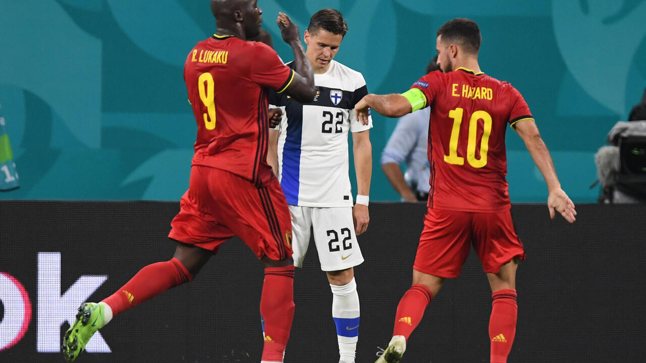 Belgium and Denmark qualify for the knockout phase of Euro 2020