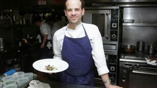 Chef Gregory Marchand's Frenchie flagship restaurant in Paris was awarded its first Michelin star last month