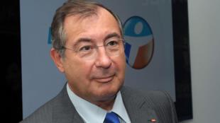 Martin Bouygues, PDG du groupe industriel français.