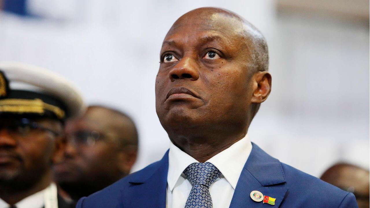 Le Président de la Guinée-Bissau, Jose Mario Vaz, à l'ouverture de la 54e session ordinaire des chefs d'État et de gouvernement de la CEDEAO, à Abuja, au Nigéria, le 22 décembre 2018.