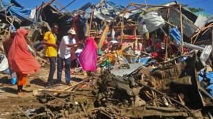 Archive - Un attentat à la voiture piégée a fait au moins 8 morts, le 26 novembre, à Mogadiscio.