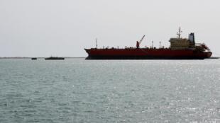 Vue du port de Hodeida dans la ville portuaire yémenite, située à environ 230 kilomètres à l'ouest de la capitale Sanaa.