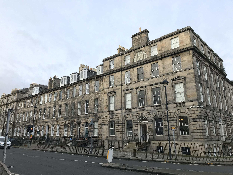 "Scotland's ""New Town incarnates the British side to Edinburgh's character""."