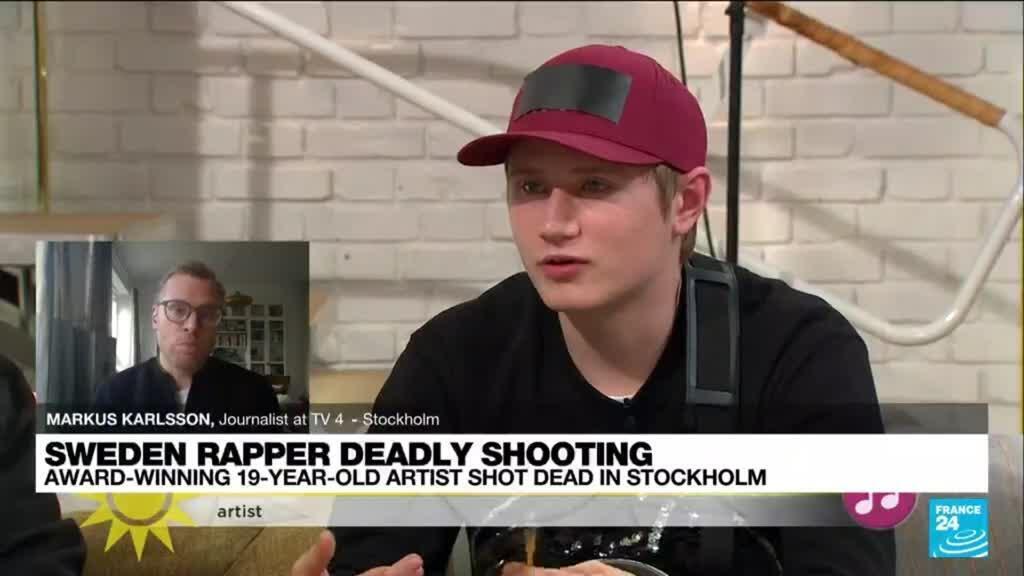 2021-10-22 16:08 Swedish rapper shot dead, stoking outrage over gang violence