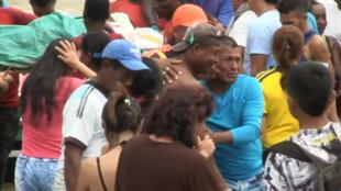 Hay versiones encontradas frente a lo que ocurrió en Tumaco. Testigos del hecho han responsabilizado a la Policía de abrir fuego contra los manifestantes.