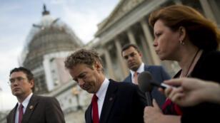 Rand Paul, l'élu républicain et libertaire qui a bloqué à lui tout seul l'examen du texte sur la NSA.