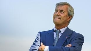 French businessman Vincent Bolloré.