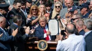 Donald Trump à la Maison Blanche le 29 juillet 2019