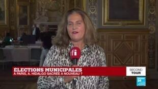 2020-06-28 21:00 Municipales 2020 : Anne Hidalgo, réélue à Paris avec près de 50% des voix