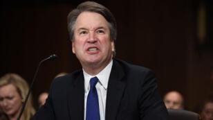 Le magistrat candidat à la Cour suprême, Brett Kavanaugh, entendu par le Sénat à Washington, le 27septembre2018.