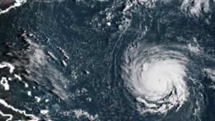 D'après les prévisions, Florence pourrait frapper la côte est américaine jeudi 13 septembre.