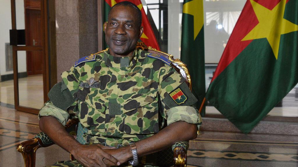 Le général Gilbert Diendéré, auteur principal du coup d'État manqué du 17 septembre dernier.