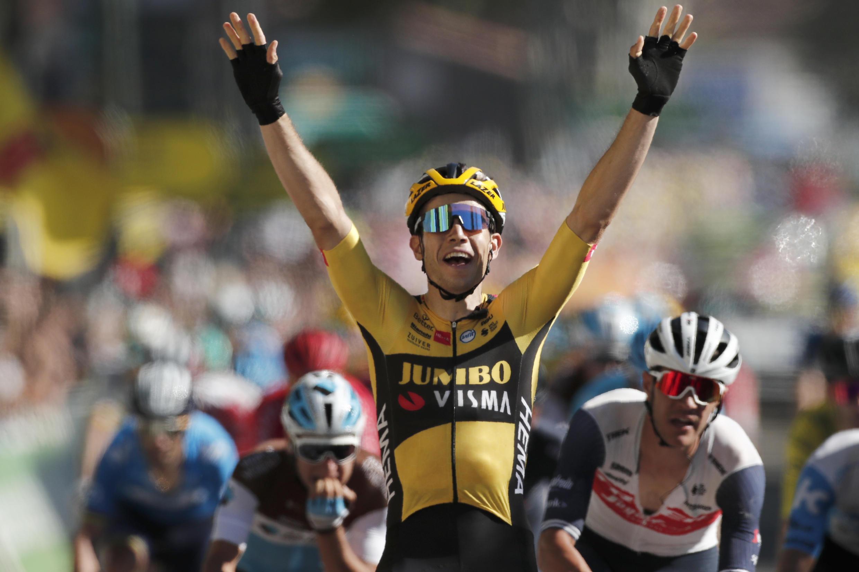 Wout Van Aert a remporté vendredi 4 septembre sa deuxième étape sur cette édition 2020 du Tour de France.