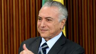 Un ancien dirigeant de Petrobras a affirmé que le président Michel Temer avait participé au réseau de corruption.