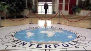 مدخل مقر منظمة الشرطة الجنائية الدولية (إنتربول) في ليون