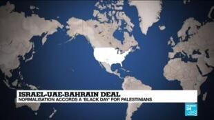 2020-09-15 14:01 Israel-UAE-Bahrain accords burnish Trump's 'deal-maker' credentials
