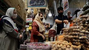 bazar iran covid