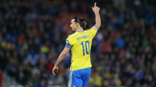 La Suède de Zlatan Ibrahimovic affrontera le Danemark en barrage de l'Euro-2016.